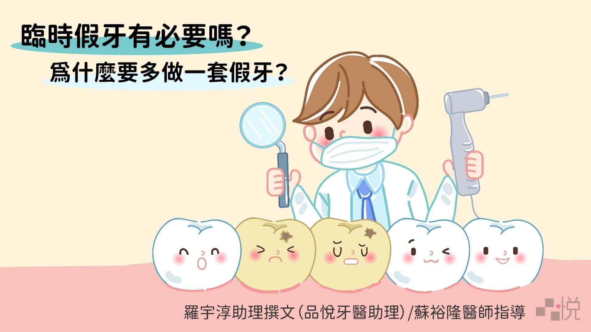 為什麼要多做一套牙套?